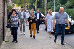 Burgemeester Wilma van der Rijt bezocht Brunssum-Zuid